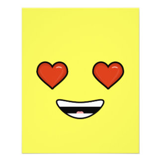 Love Emoji 11.5 Cm X 14 Cm Flyer