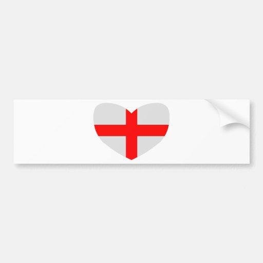 Love England Bumper Sticker