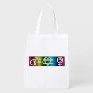 Love Equality Reusable Grocery Bag