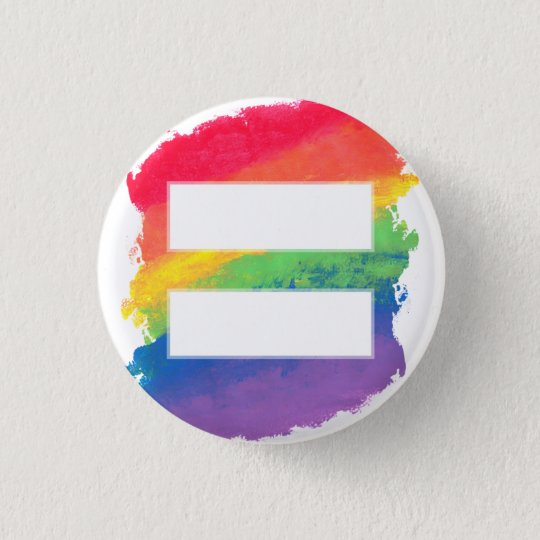 "Love Equals Love - 1"" Button"