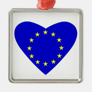Love Europe Christmas Ornament
