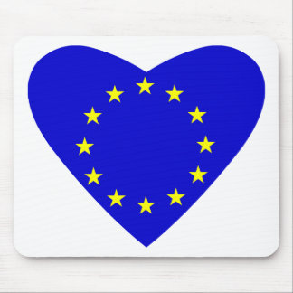 Love Europe Mouse Mat