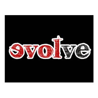 Love Evolve Postcard