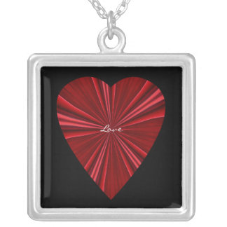 Love Expanding-Red Heart Design Personalized Necklace