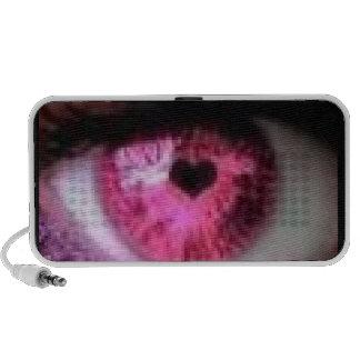 Love eyes portable speakers
