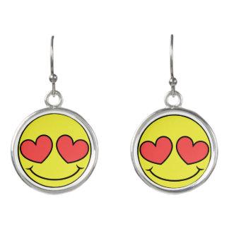 Love Face Earrings
