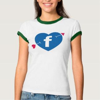 Love Facebook T-Shirt