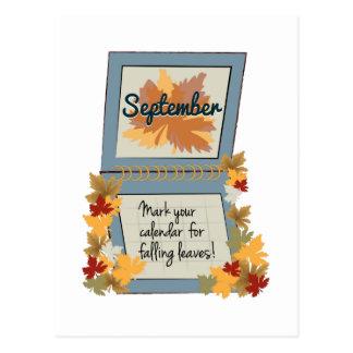 Love Fall Postcard