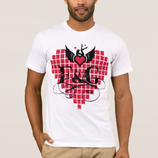 Love Filthy and Gorgeous Heart T-Shirt