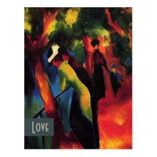 Love. Fine Art Valentine's Day Postcards