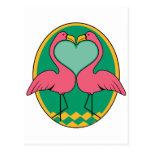 Love Flamingos Postcards