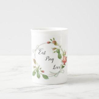 Love floral mug