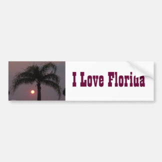 Love Florida Bumper Sticker