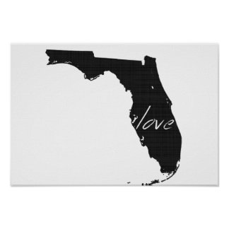 Love Florida Poster