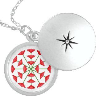 Love Flower Design 196 Necklace