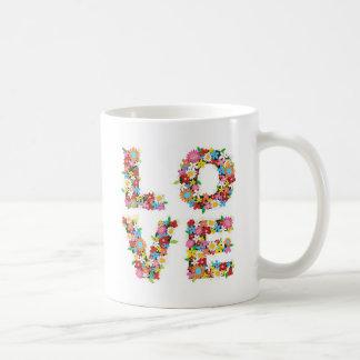 Love Flowers Coffee Mug