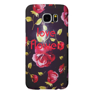 love flowers sumsung galaxy case