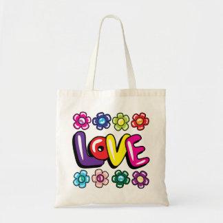 Love & Flowers Tote