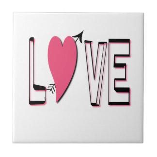 Love Font Tile