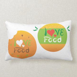 Love food double design pillow design