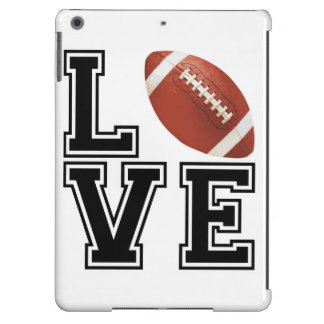 Love Football College Style Cover For iPad Air