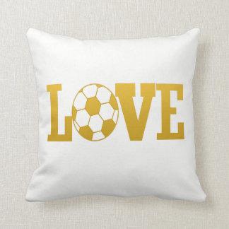 LOVE FOOTBALL CUSHION