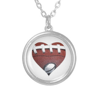 LOVE FOOTBALL Sterling Silver necklace