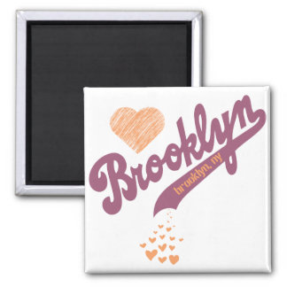 Love For Brooklyn Magnet
