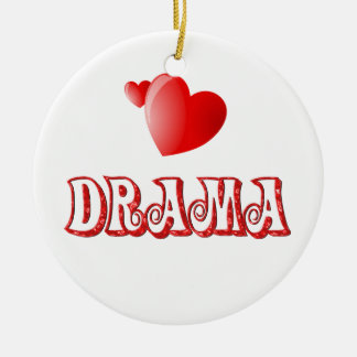 Love for Drama Christmas Ornament