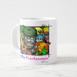 Love For Frankenstein_mug. Jumbo Mugs