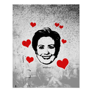 Love for Hillary Poster