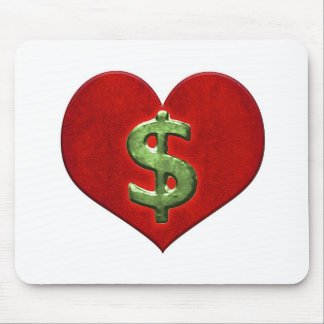 Love for Money Mouse Pad