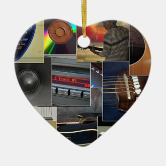 Love for Music Christmas Ornament