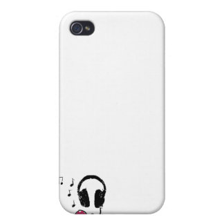 Love for Music iPhone 4 Cover