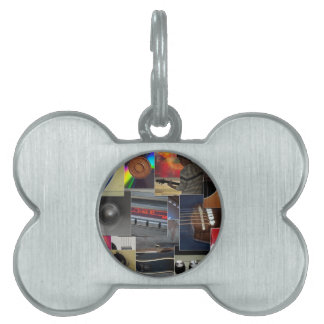 Love for Music Pet ID Tag