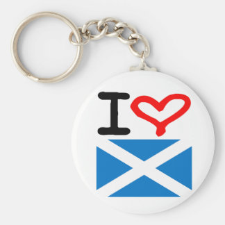 Love For Scotland Key Ring