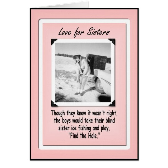 Love for Sister Birthday Card