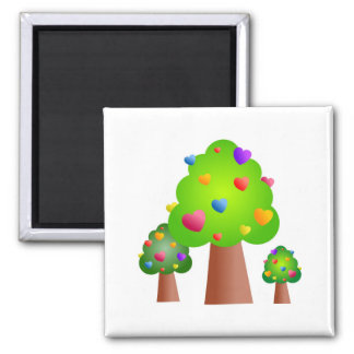 Love Forest Refrigerator Magnets