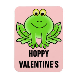 Love Frog Funny Greeting Hoppy Valentine s Day Flexible Magnet
