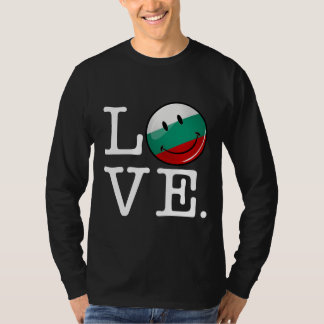 Love From Bulgaria Smiling Flag T-shirts