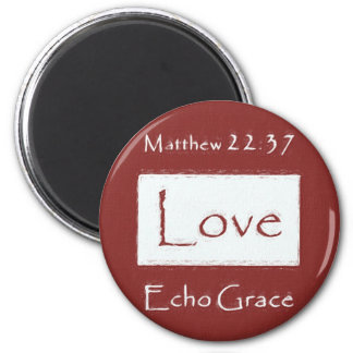 Love from Echo Grace magnet