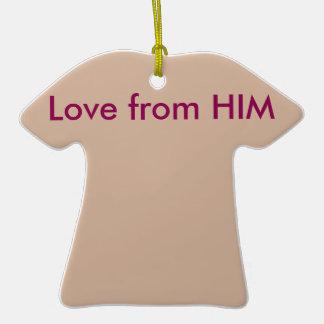 Love from HIM Ceramic T-Shirt Decoration