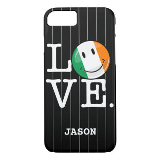 Love From Ireland Smiling Flag iPhone 7 Case