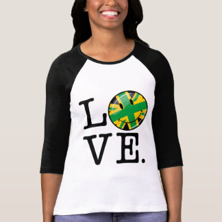 Love from Jamaica and Britain T-Shirt