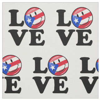 Love From Puerto Rico Fabric