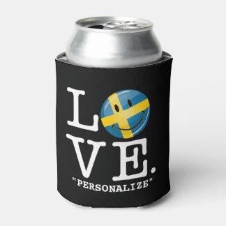 Love From Sweden Smiling Flag