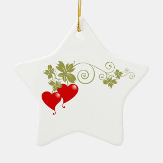 Love Fruit Christmas Ornament
