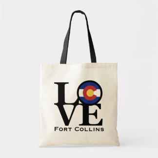 LOVE Ft Collins Colorado Tote