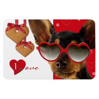Love. Fun Valentine's Day Gift Magnet Rectangle Magnet
