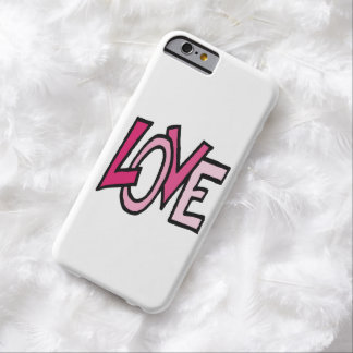 Love (funky word) barely there iPhone 6 case